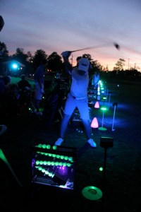 Night golf course idea