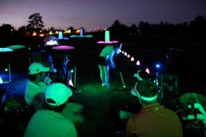 Night golf lights