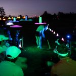 Night golf lights
