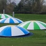 golf range targets that glow in the dark
