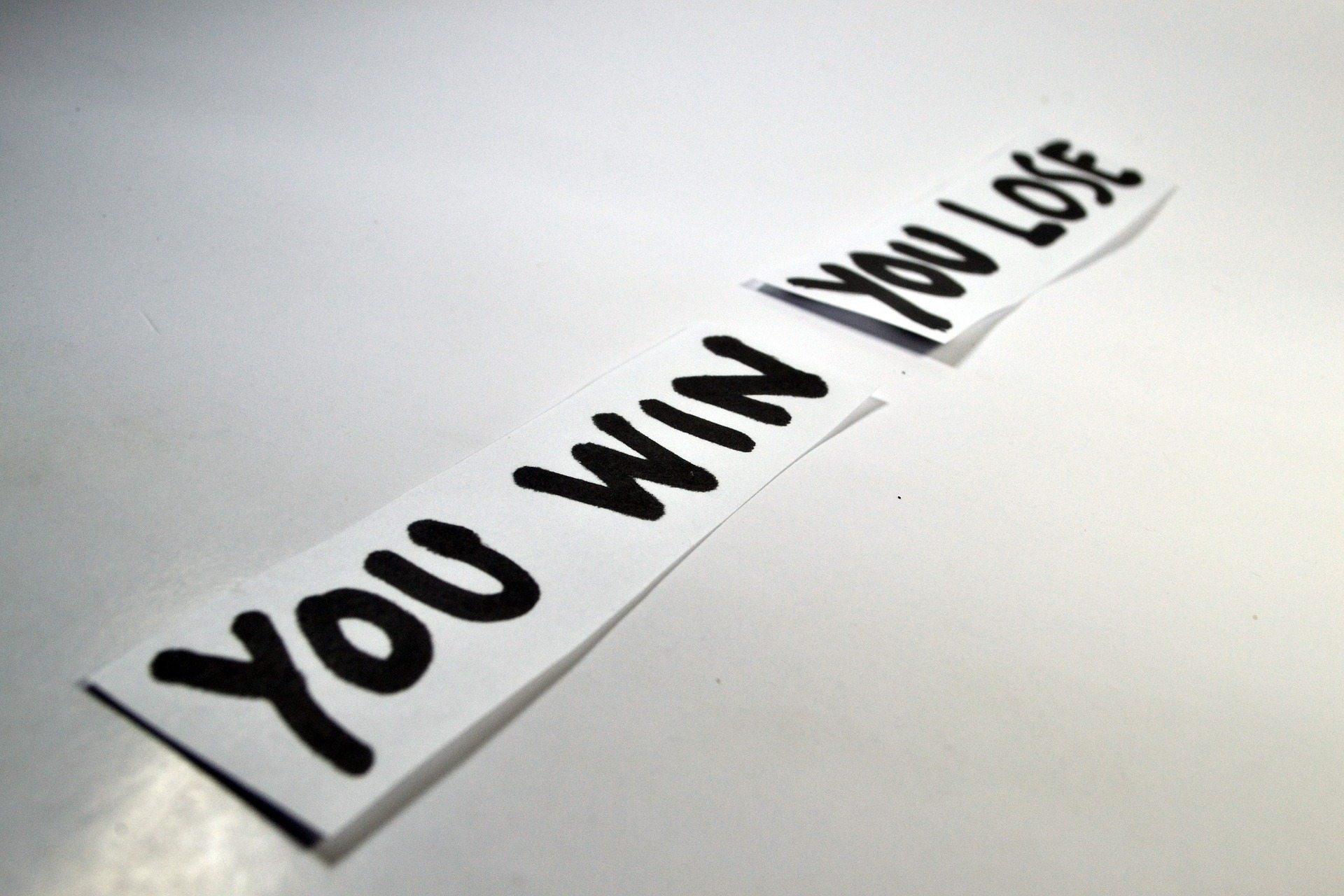 Η ήττα είναι η μεγαλύτερη νίκη