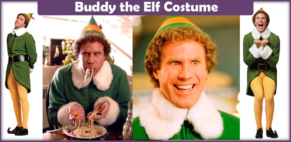 Buddy The Elf Costume Wig 65