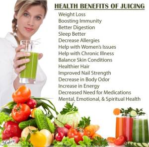 juicing bennefits