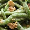Salata de fasole verde cu nuci si portocale
