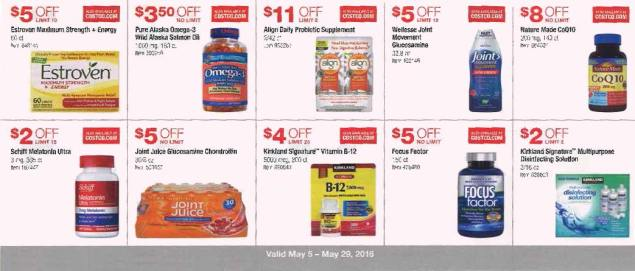 May 2016 Costco Coupon Book Page 13
