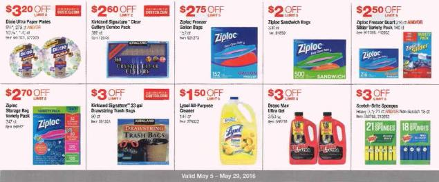 May 2016 Costco Coupon Book Page 9