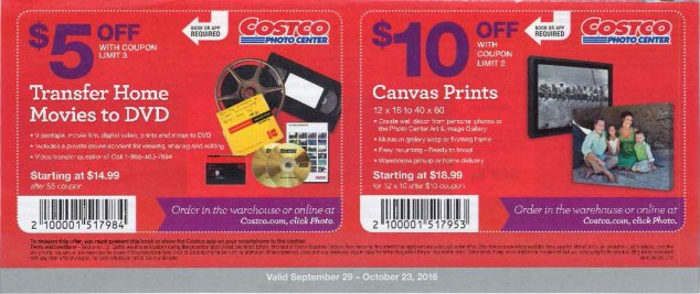 October 2016 Costco Coupon Book Page 19