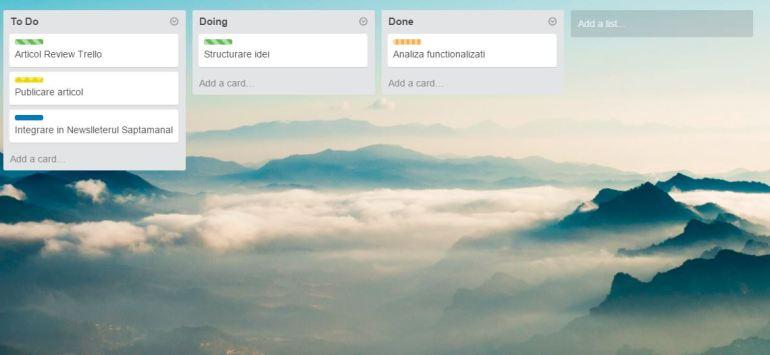 trello app review Costin Ciora
