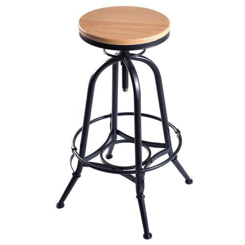 Medium Crop Of Wood Bar Stools