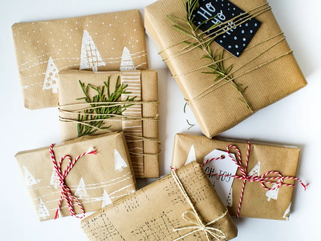 DIY Gift wrapping paper Cosymore