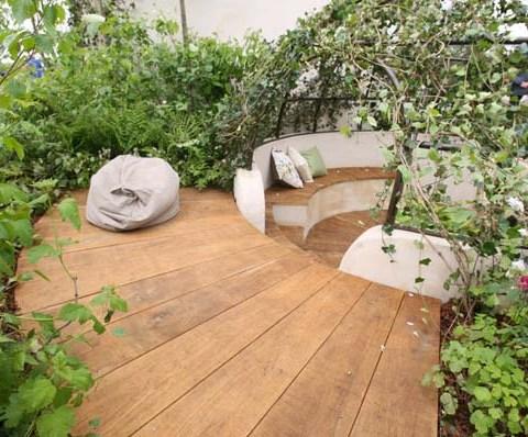 Secret outdoor deck