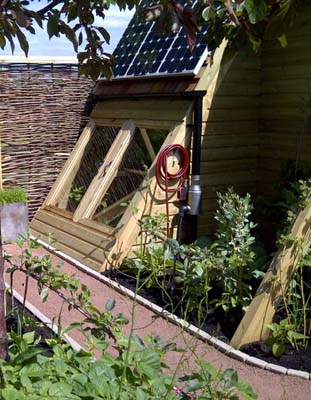 Coldframe and photovoltaic cells