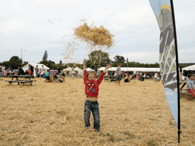 the big feastival festival kids cotswolds