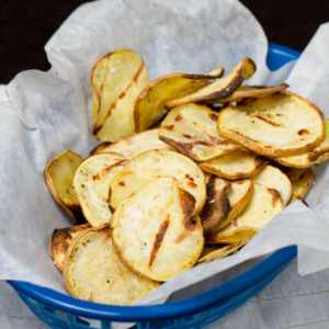 How To Grill Sweet Potato Chips