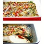 Gluten Free BLT Egg Casserole