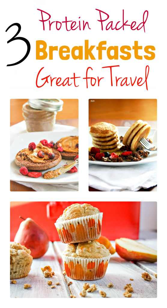 Portable Gluten Free Breakfasts with Protein. These recipes are ...