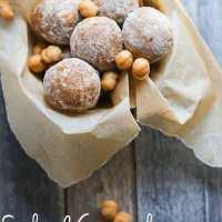 Salted Caramel Snickerdoodle Protein Bites {Gluten Free}