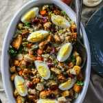 Stuffing-Salad-with-sweet-onion-dressing