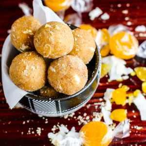 No Bake Coconut Peanut Butter Butterscotch Bites {Grain Free}