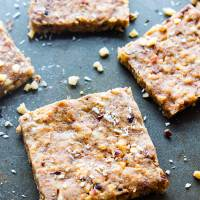 "EASY 3 Step Paleo ""Baklava"" Bars {Vegan Friendly}"