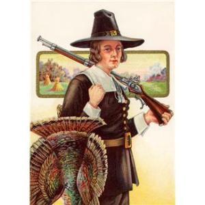 Pilgrim with Gun
