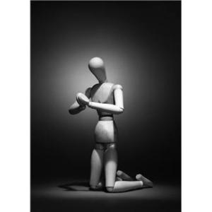 Praying Mannequin