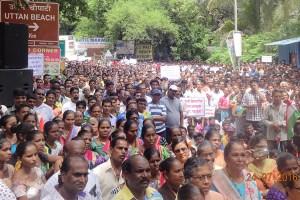 Residents of Dharavi Beth Island Resist Corporate Sponsored Development Plan