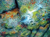 """""""Web of Life"""" By Max D. Standley http://www.maxdstandley.com/paintings/web_of_life.html"""