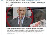 Droning Julian Assange: The Clinton Formula