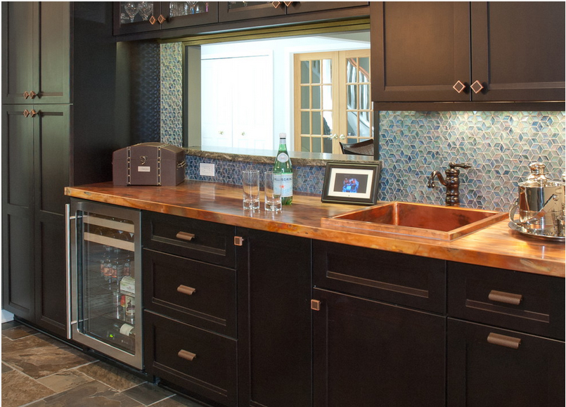 Early Kitchen Design Trends for 2015 Include Black, Metal