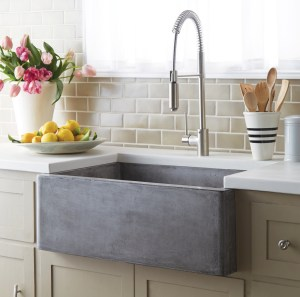 native trails concrete nativestone farmhouse sink