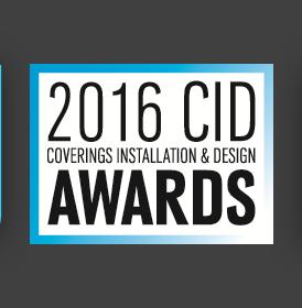 Coverings CID Awards