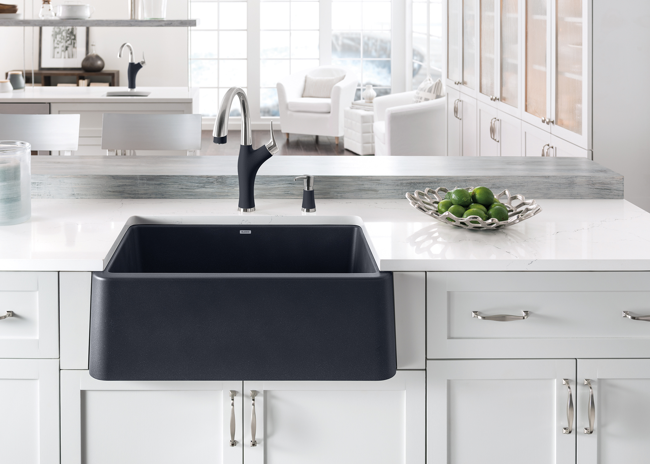 Exceptional IKON Apron Front Sink