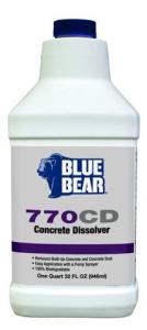 Blue Bear Concrete Dissolver