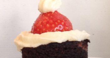 An edible Santa hat!!