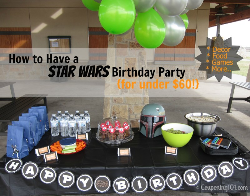 Large Of Star Wars Party Ideas