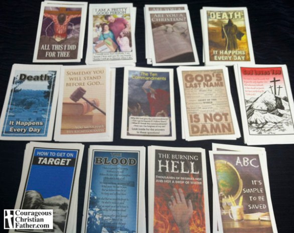 My Fellowship Tract League Tracts