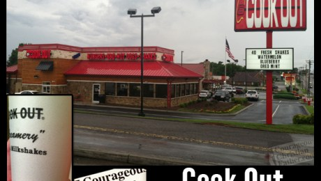 Cook Out - Morristown, TN - A Christian based business to eat at.