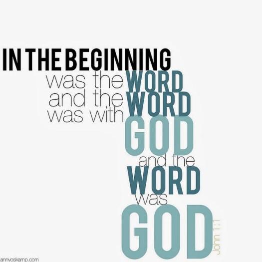 John 1:1 - The Word