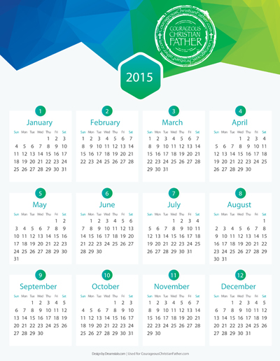 Free 2015 Calendar Download
