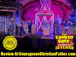 The comedy barn review courageous christian father for Christian klemm