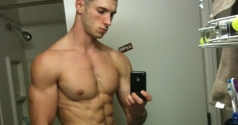 I found this guy on Pinterest, but the site it's from is called Only Way is Gay. So guys, just an FYI, that's how you look in these photos. Even if you're ripped.