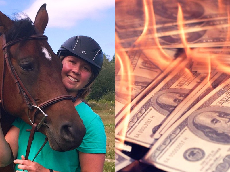 Courtney Kirchoff new horse