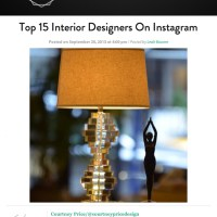 Top 15 Interior Designers on Instagram