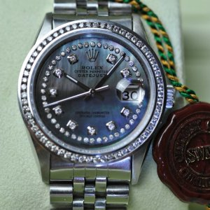 Rolex Datejust MOP Mother of Pearl Zifferblatt und Diamant Lünette