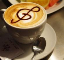 Notenschüssel-Kaffee