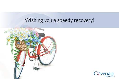 Medium Of Wishing You A Speedy Recovery
