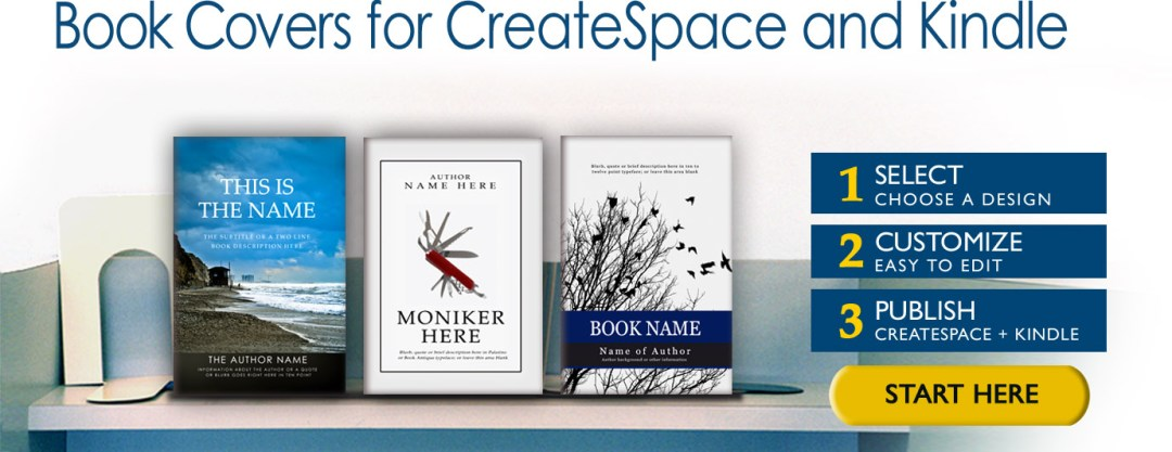 Book Covers for CreateSpace and Kindle