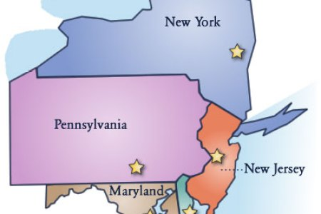 map of new england and middle atlantic states car tuning