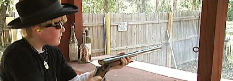 Young Gun Dylan Holsey aka Rattlesnake Wrangler